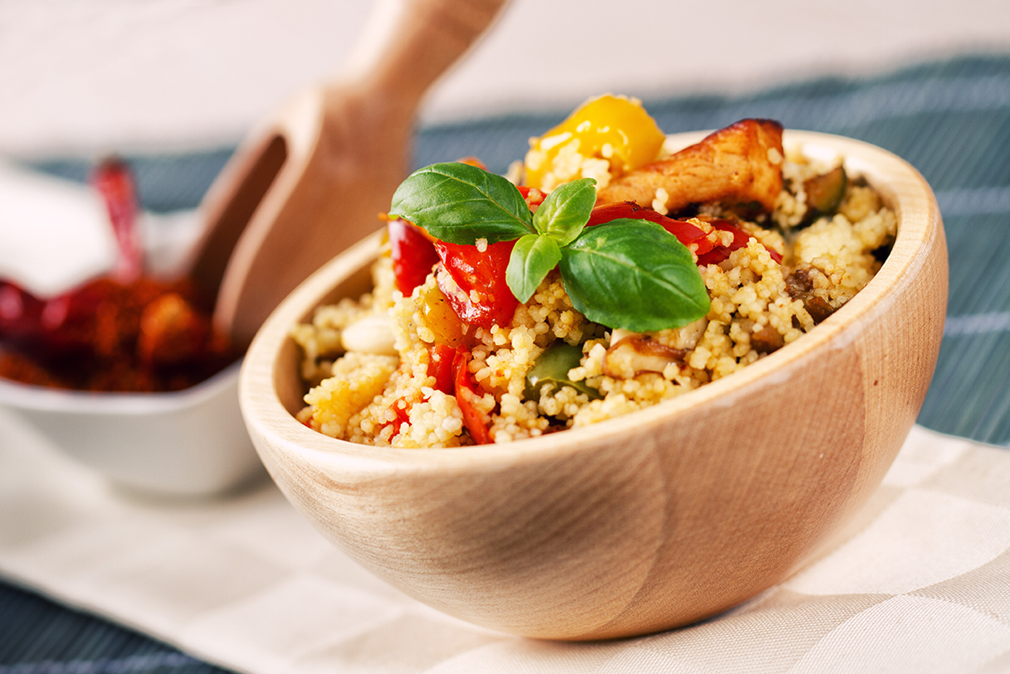 cucinare la ricetta originale del cous cous grand chef evolution