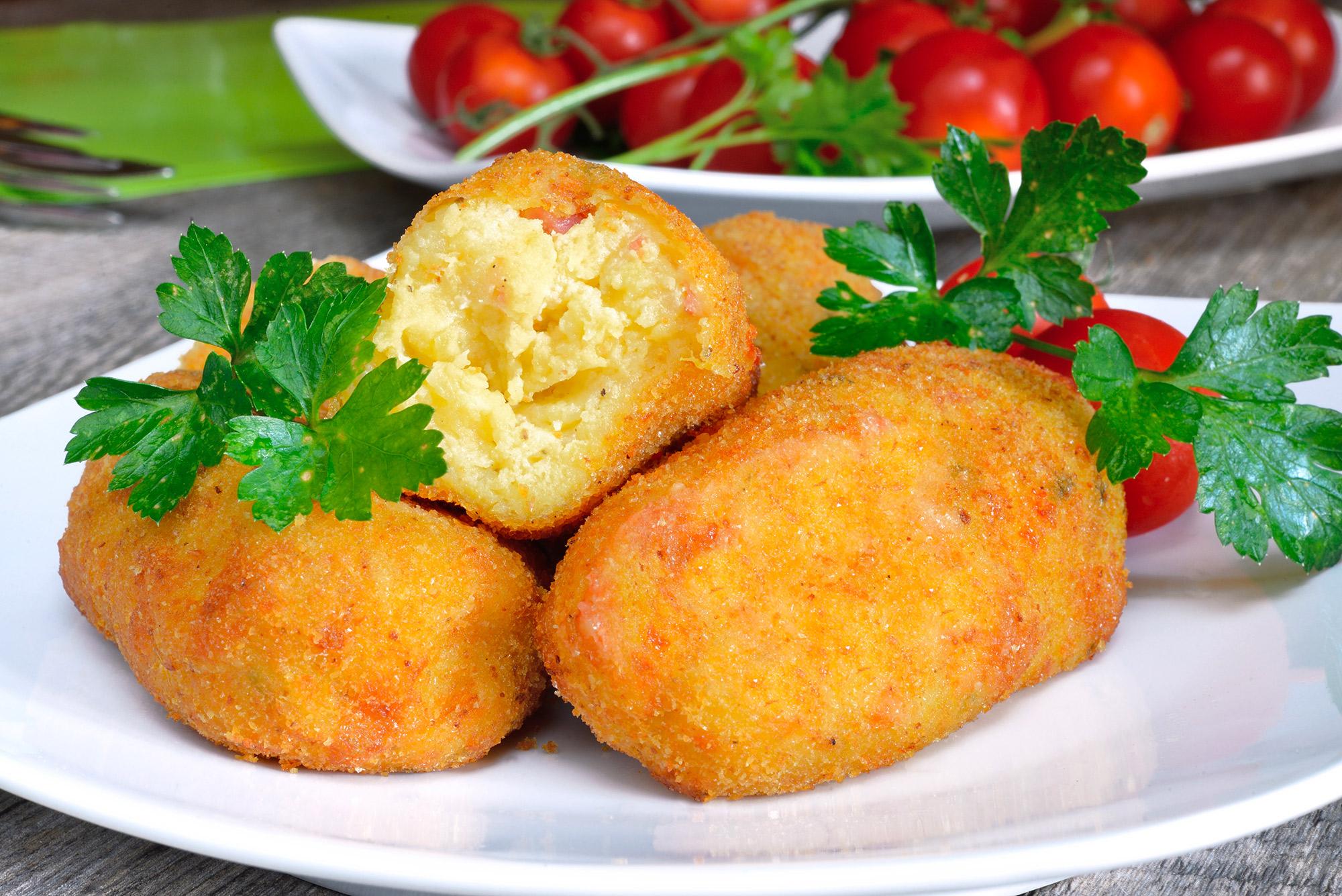L affascinante storia dei crocch di patate napoletani - Cucina evolution ricette ...