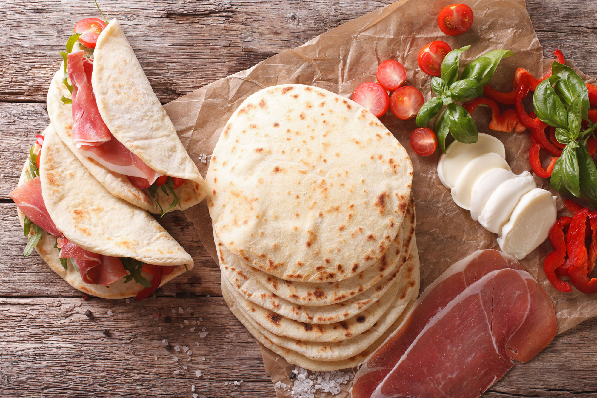 come preparare la buonissima piadina romagnola grand chef evolution