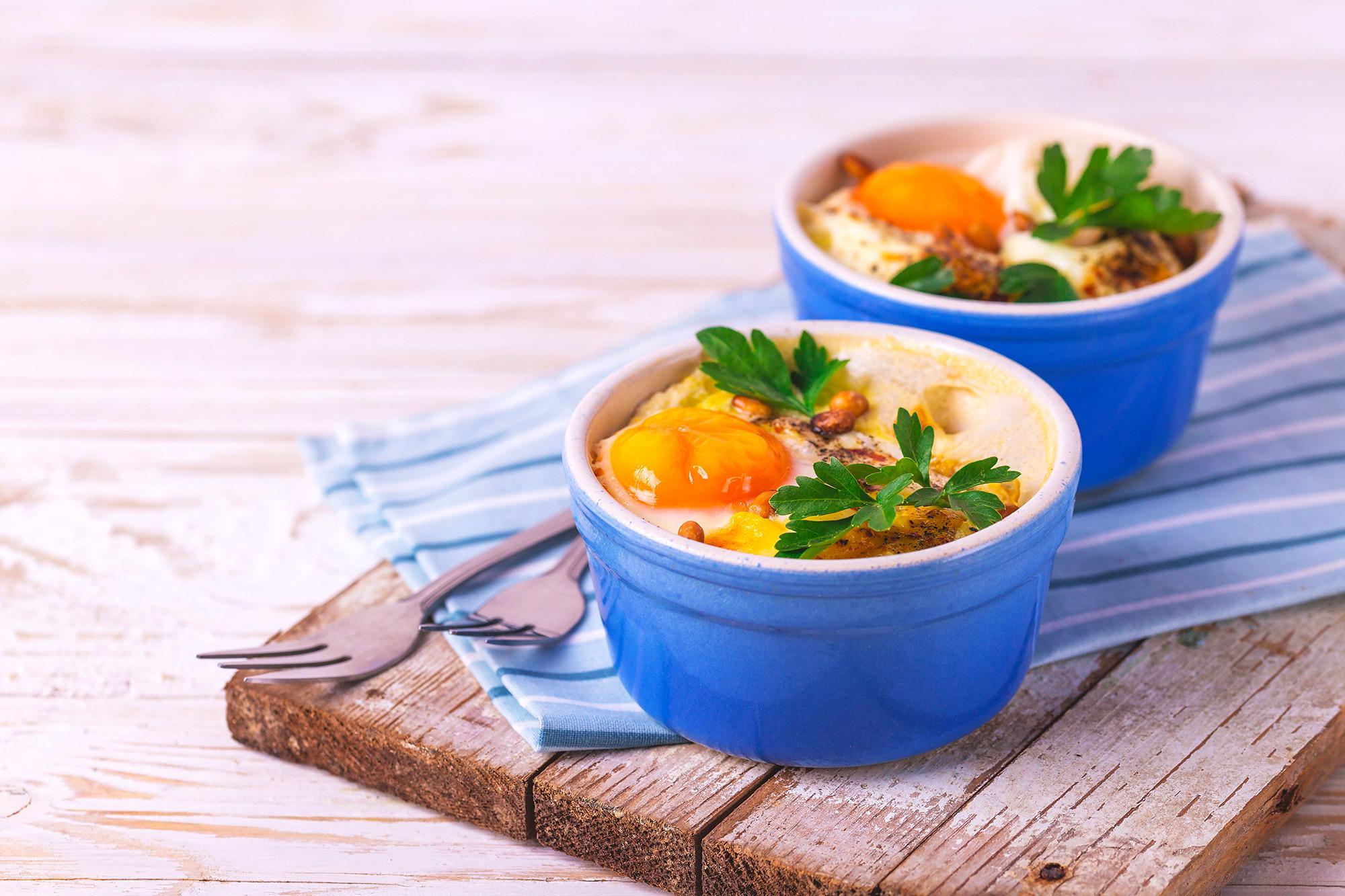 Come cucinare le uova in cocotte a casa grand chef evolution - Cucina evolution ricette ...