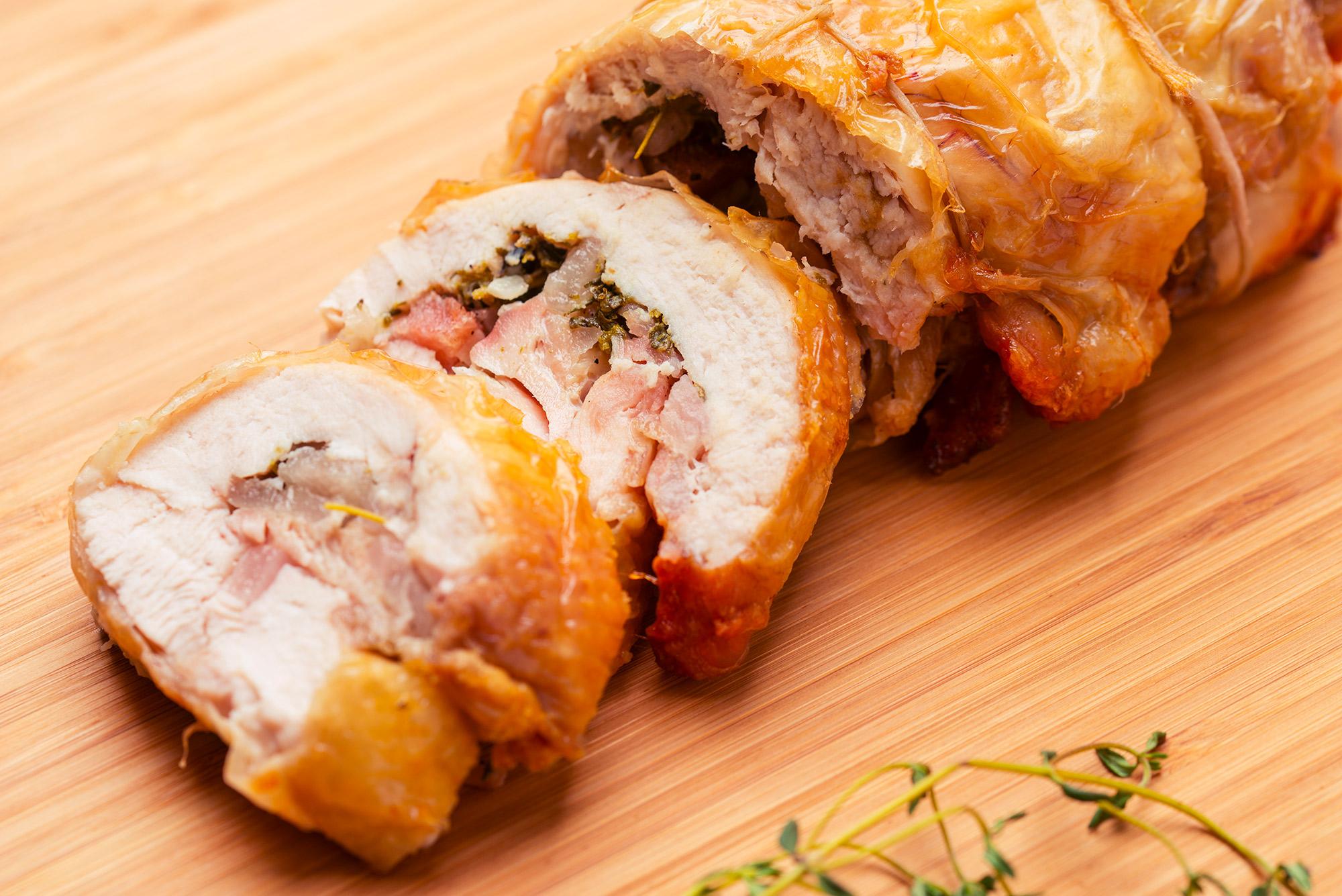 come cucinare il galletto porchettato - grand chef evolution - Come Cucinare Il Gallo