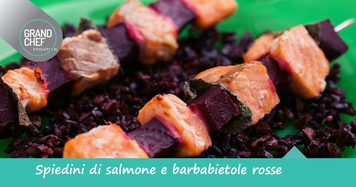 Spiedini di salmone una ricetta stuzzicante grand chef - Cucina evolution ricette ...