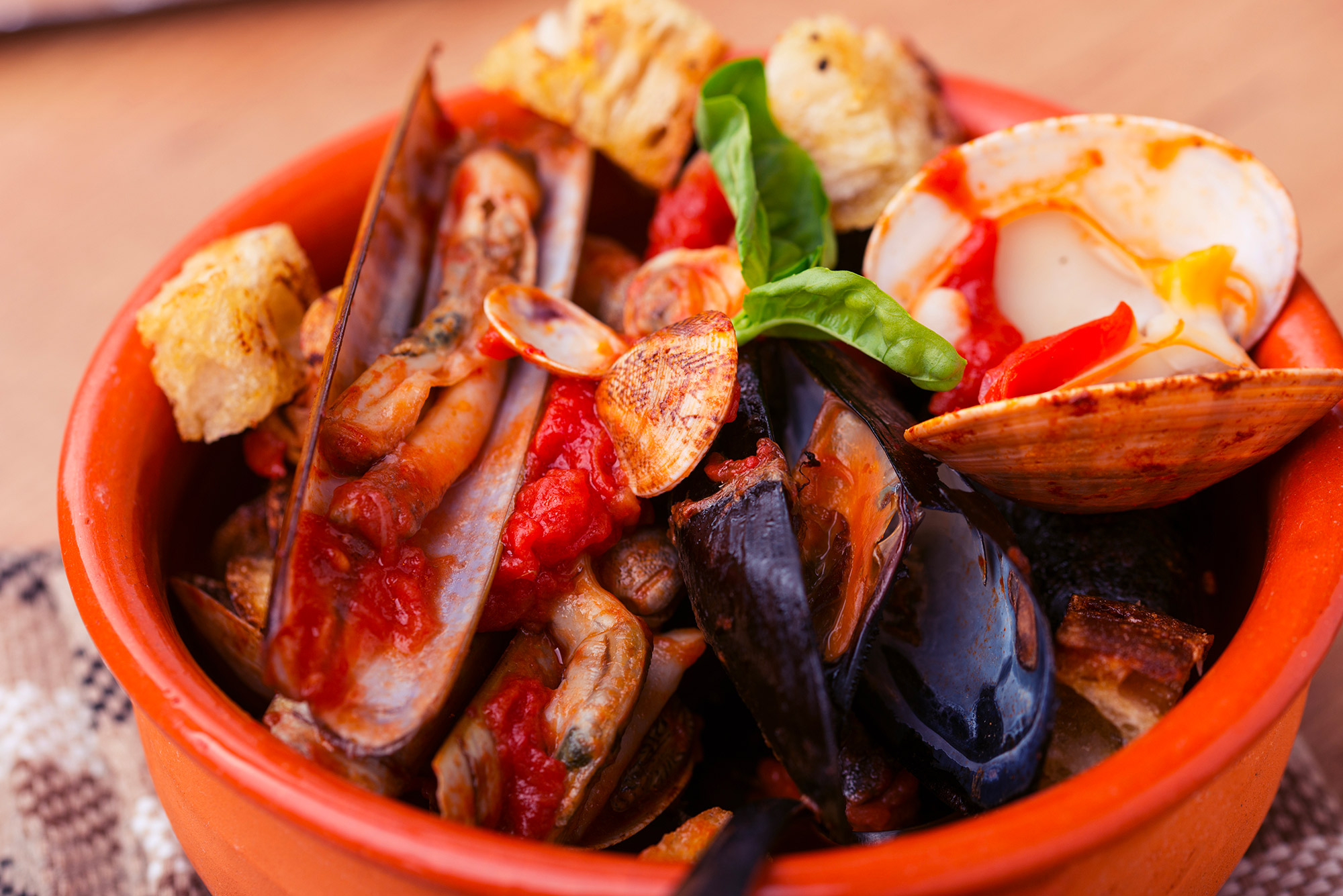 Come Preparare Una Zuppa Di Frutti Di Mare Grand Chef Evolution